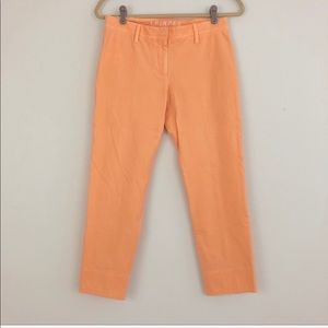Thinple Orange Corduroy Ankle Pants